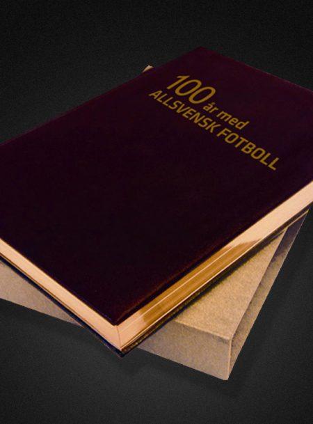100 år med allsvensk fotboll Bibliofilupplaga