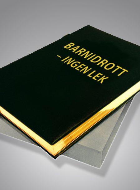 Barnidrott - ingen lek Bibliofilupplaga
