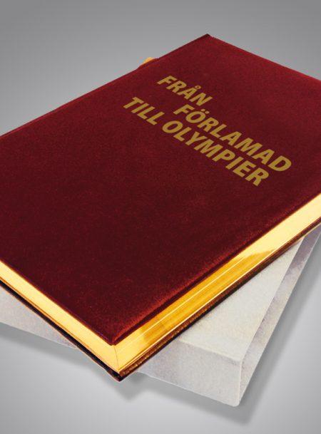 Från Förlamad till olympier Bibliofilupplaga