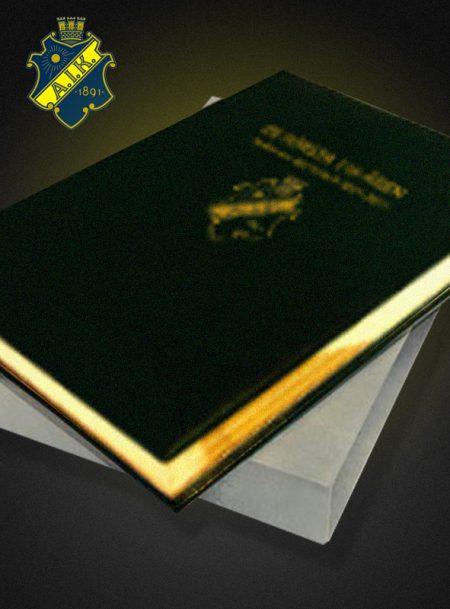 De första 116 åren – AIK Fotboll Bibliofilupplaga