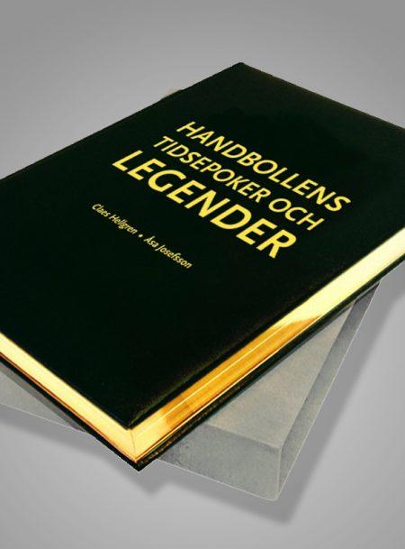 Handbollens tidsepoker och legender Bibliofilupplaga