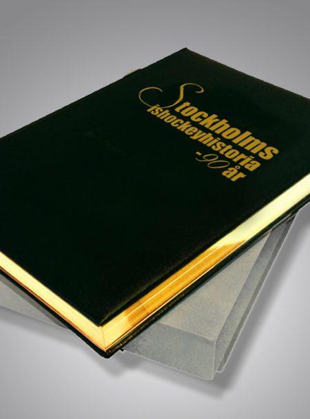 Stockholms ishockeyhistoria 90år Bibliofilupplaga