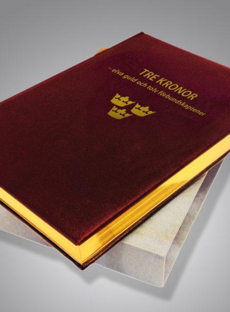 Tre Kronor – elva guld och tolv förbundskaptener Bibliofilupplaga