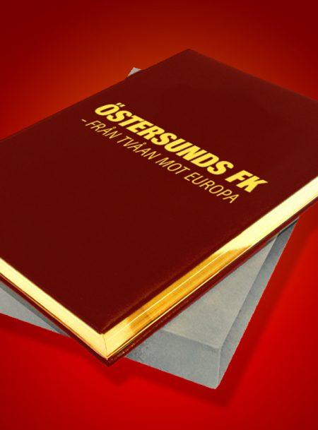 ÖSTERSUNDS FK – FRÅN TVÅAN MOT EUROPA BIBLIOFILUPPLAGA