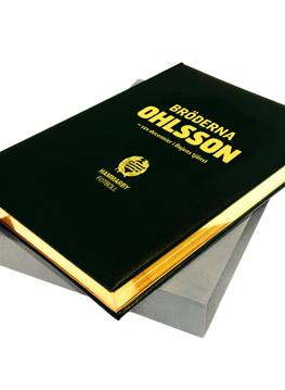 BRÖDERNA OHLSSON - SEX DECENNIER I BAJENS TJÄNST BIBLIOFILUPPLAGA