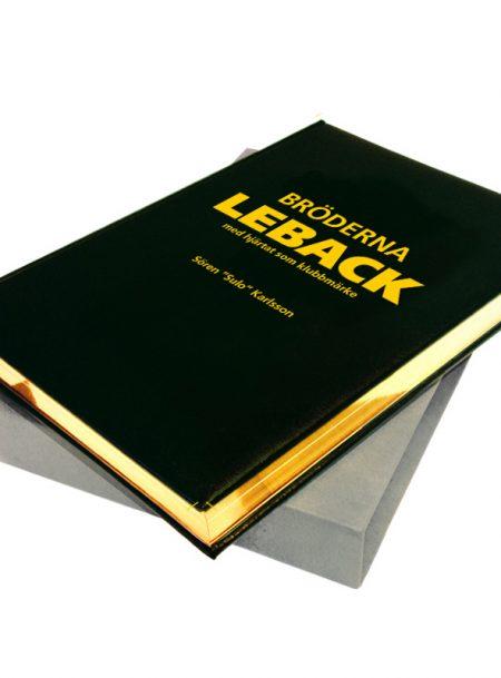 Bröderna Leback - med hjärtat som klubbmärke Bibliofilupplaga