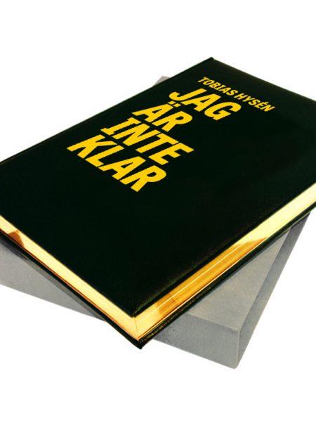 Jag är inte klar Bibliofilupplaga